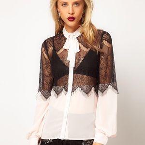 ASOS Lace Shirt